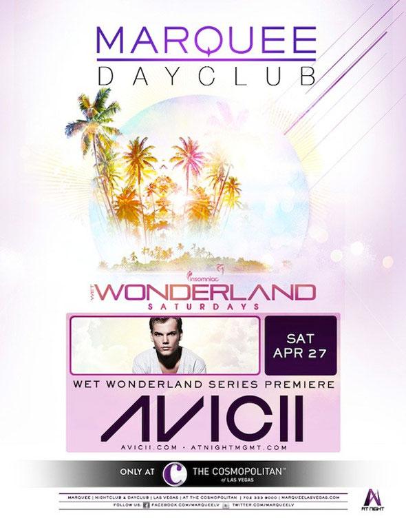 Marquee Dayclub | Wet Wonderland | Avicii
