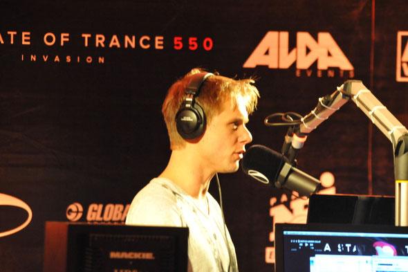 Armin van Buuren (image by Raymond Garnier)
