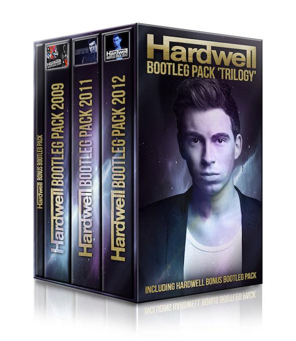 Hardwell Bootleg Pack 'Trilogy'