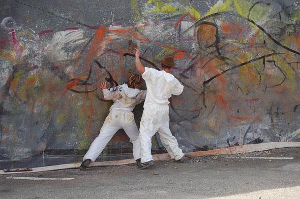 Perf peinture/danse
