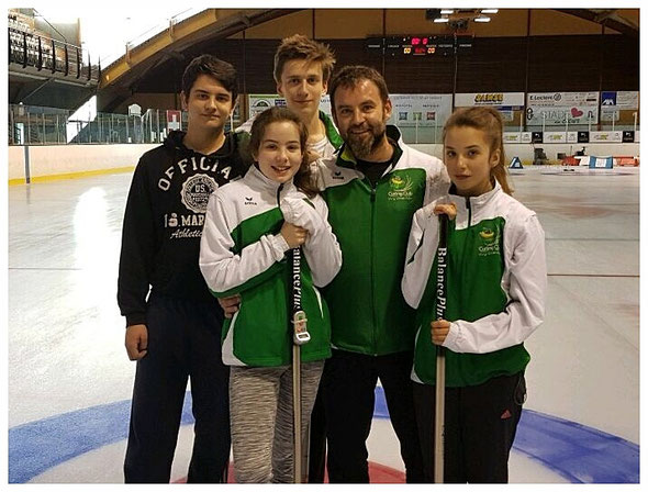Yohann, Maëlle, Thomas, Stéphane, Cléa