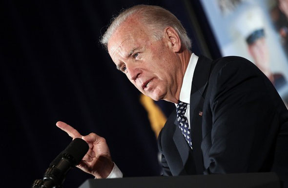 Win McNamee/Getty Images -  Vice President Joe Biden speaks at the 18th annual Tragedy Assistance Program for Survivors (TAPS) Seminar May 25 in Arlington, Va.