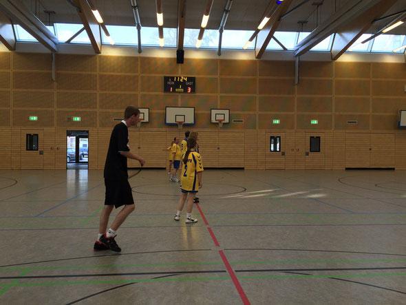 Bild: Handball Freiwurf Hamburg-Liga in Rahlsteht