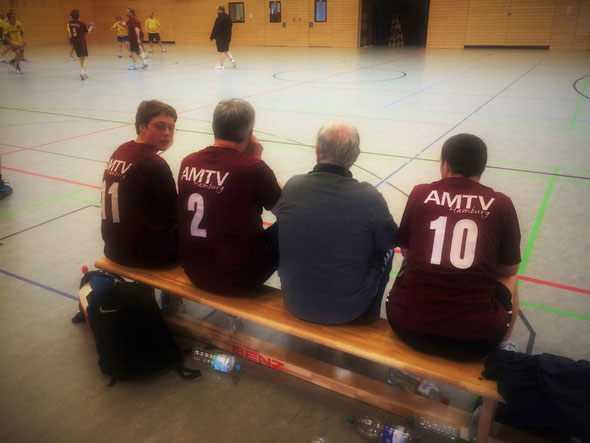 Bild: Handball Spieltag der Freiwurf Hamburg-Liga beim AMTV Hamburg in Rahlstedt