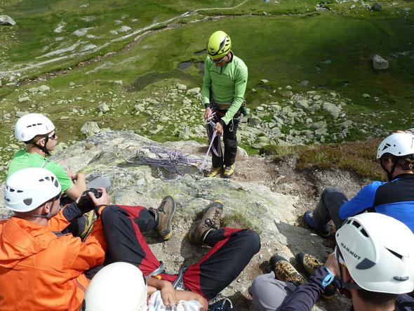 JO Alpintage mit Bergführer Patrick Felder