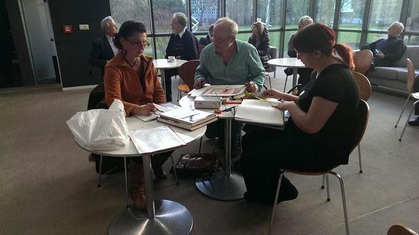 Zeichnen im Lehmbruckmuseum, Jan. 2014