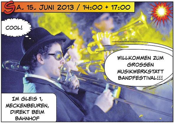 Bandfestival Einladung