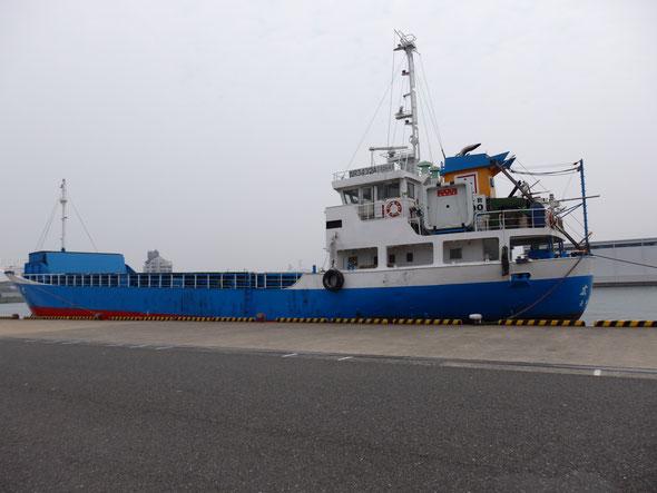 福岡県手乗りインコ小鳥販売店ペットショップミッキン 北九州市小倉北区の西港の船を撮影しました。