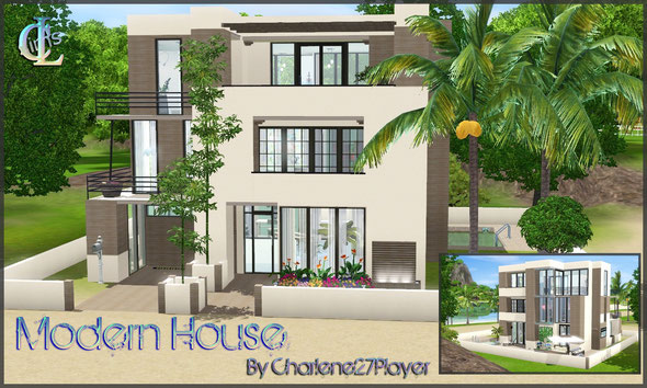 Modern House by Charlene27Player