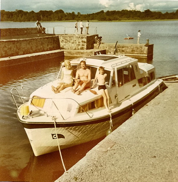 Die Autorenfamilie am Lough Key, Ireland