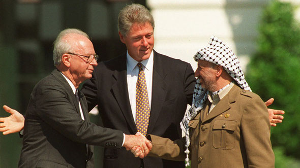 "Oslo peace accords: ""Normalization can be understood as a process by which normal relations are manufactured in a context of abnormal circumstances"""