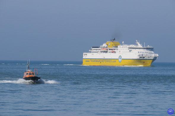 Côte d'Alabâtre à Dieppe (© lebateaublog 2014)