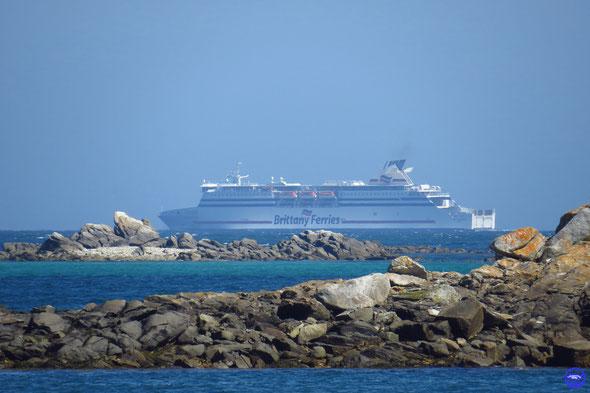 Cap Finistère en route pour Bilbao (© lebateaublog 2014)