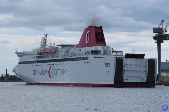 Gotland à Oskarshamn (© lebateaublog 2015)