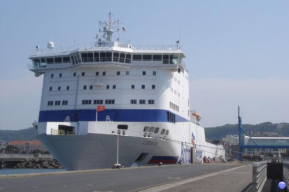 Cotentin au Poste 3 de Cherbourg en juin. (© lebateaublog 2013)