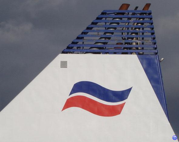 La Barfleur cheminée. (© lebateaublog 2013)