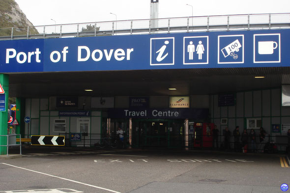 Gare maritime de Douvres (© lebateaublog 2011)