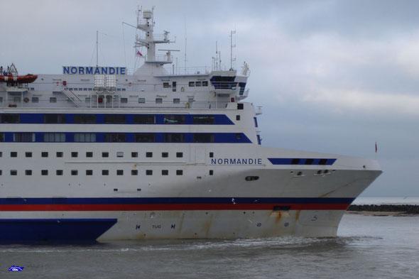 Normandie en mode Phi-Turn (© lebateaublog 2012)