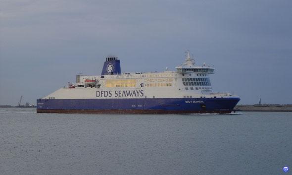 Delft Seaways à Dunkerque (© lebateaublog 2012)