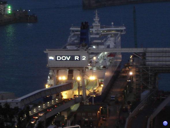 Dover Seaways à Douvres (© lebateaublog 2012)