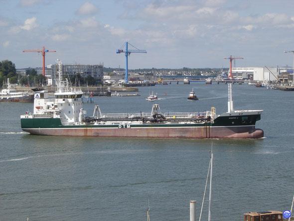 André L & Keroman à Lorient (© lebateaublog 2013)