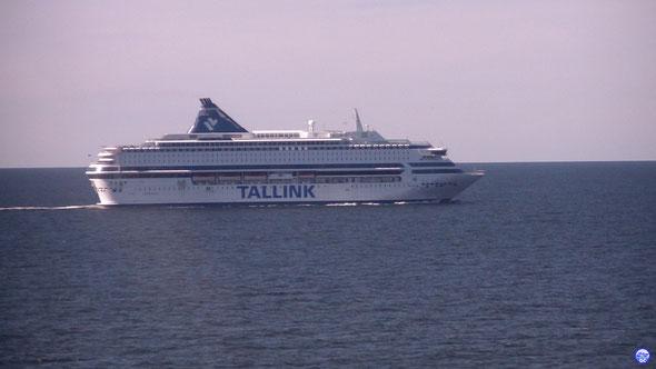 Silja Europa en mer vu depuis Superstar (© lebateaublog 2013)