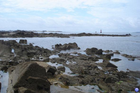 La vue depuis la grande plage de Port Louis (© lebateaublog 2013)
