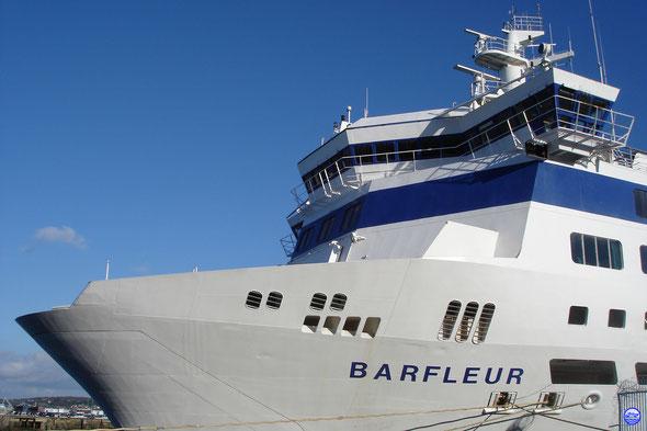 Barfleur revenu chez lui.  (© lebateaublog 2013)