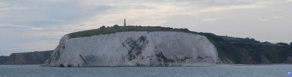 Île de Wight : Culver Down (© lebateaublog 2012)