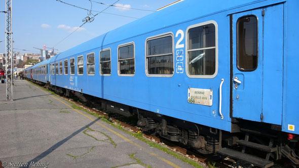 "B 360/361 "" BUCURESTI "" Sitzwagen (Beograd  1. April 2007)"