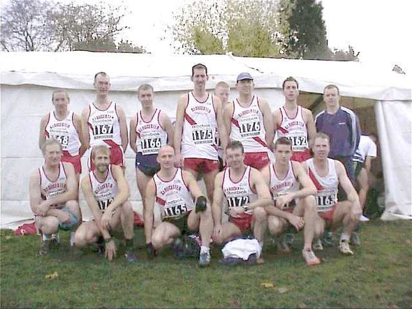 Photo of team at Senneleys Park