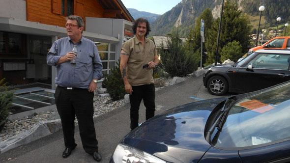 Eine kurze Pause irgendwo im Aostatal