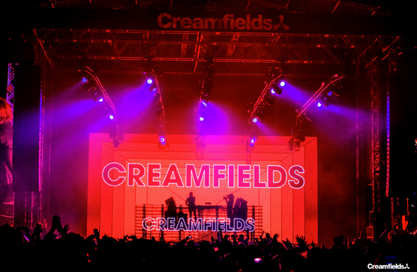 Creamfields (image by Anthony Mooney