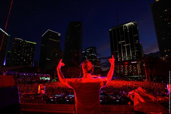 Kaskade. Photo: © Ultra Music Festival