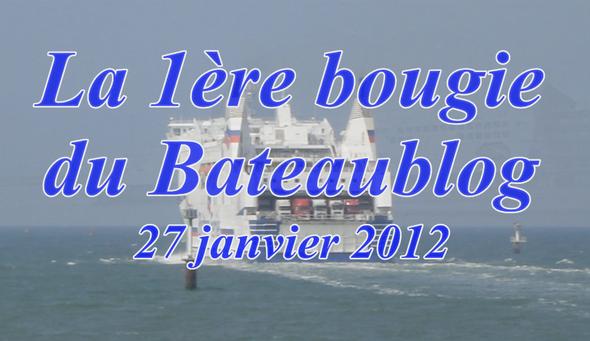 La 1ère bougie du Bateaublog (#1-la vidéo) (© lebateaublog 2012)