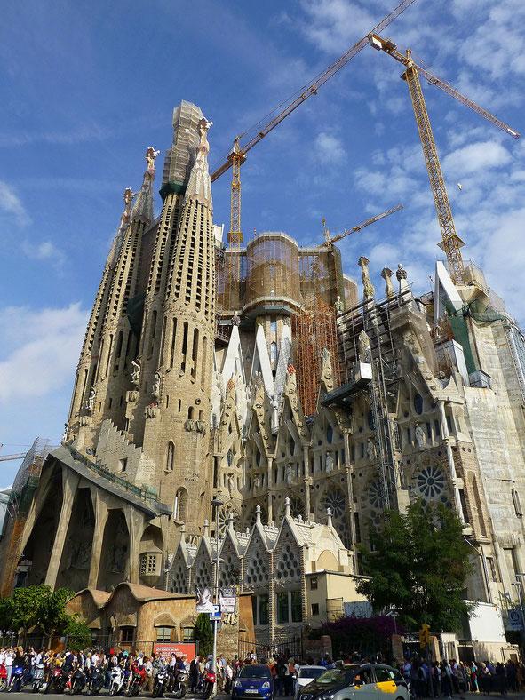 Sagrada Familia Barcelona With Baby