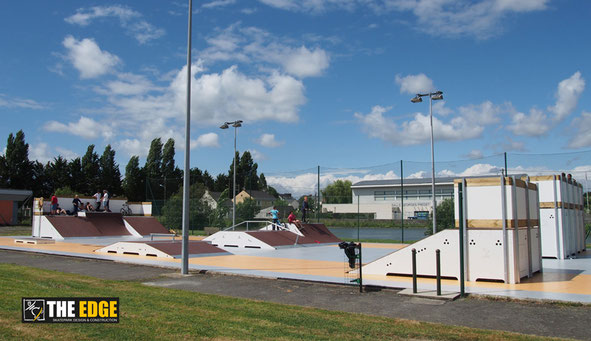 THE EDGE Skatepark Design & construction - Skatepark de Trignac