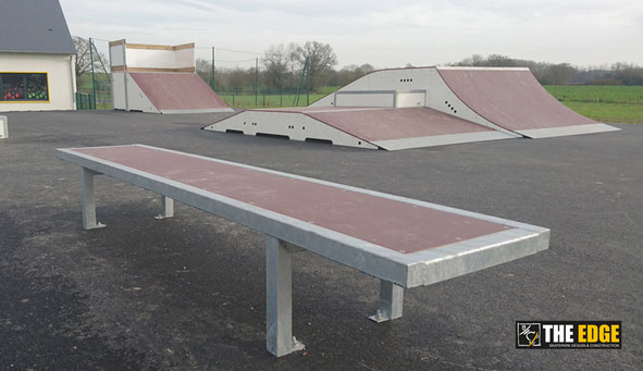 THE EDGE Skatepark Design & construction - Skatepark de Servon sur Vilaine