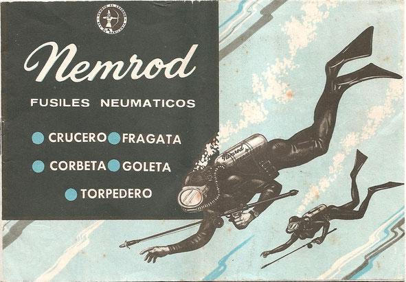 Aussi la doc NEMROD d'époque en Espagnol