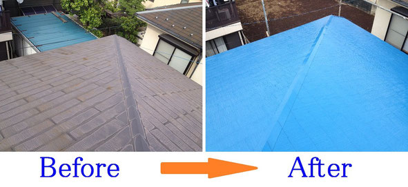 屋根塗装 杉並区