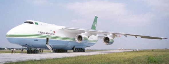 There are chances that Lybian Air Cargo will come back again from the dead, operating an AN-124-100 Ruslan
