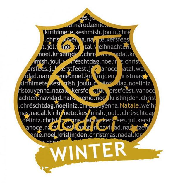 Birrificio del Borgo, logo della birra 25 dodici, birra artigianale italiana la birra di Natale all'Ombelico Rivoli Torino