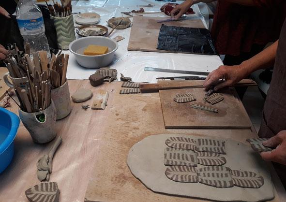 Sábado cerámica Málaga