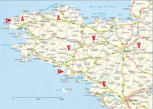 landkarte-bretagne-strassen-und-wege