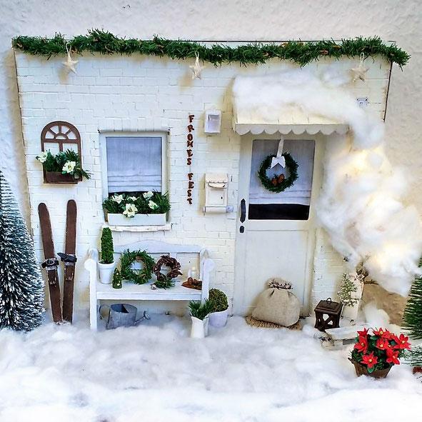 Weihnachts-Wichteleingang