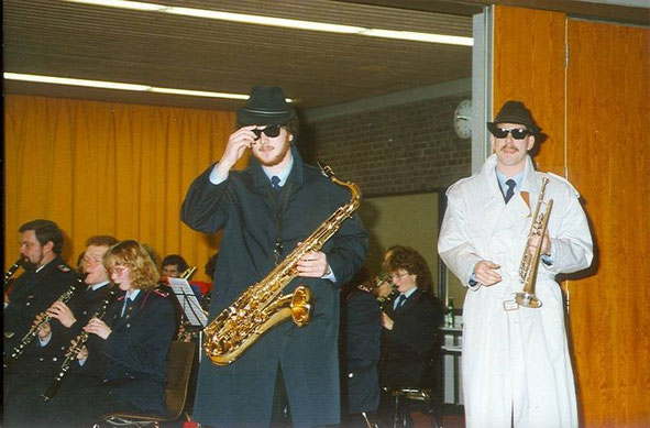 "1988: ""Blues for Bessie"" mit Stefan (Fitti) Kreipe und Reiner Willke"