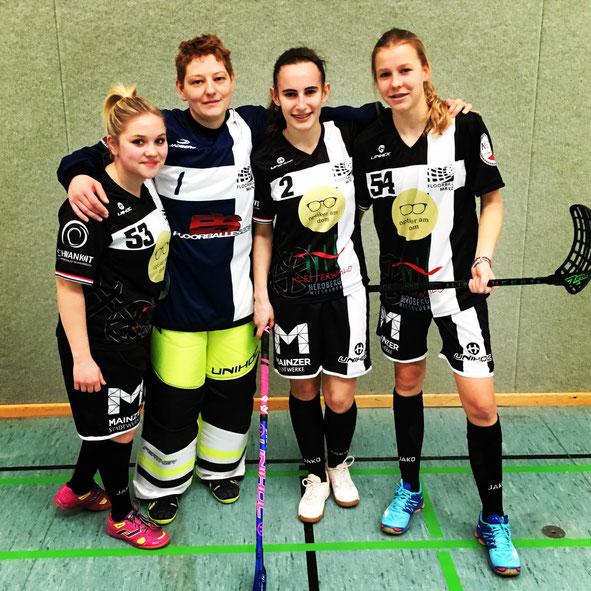 Floorball Mainz jetzt auch mit wachsendem Damenanteil