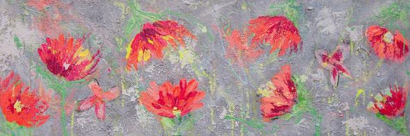 """Tropical Feeling"" - 40x120x4,5 cm"