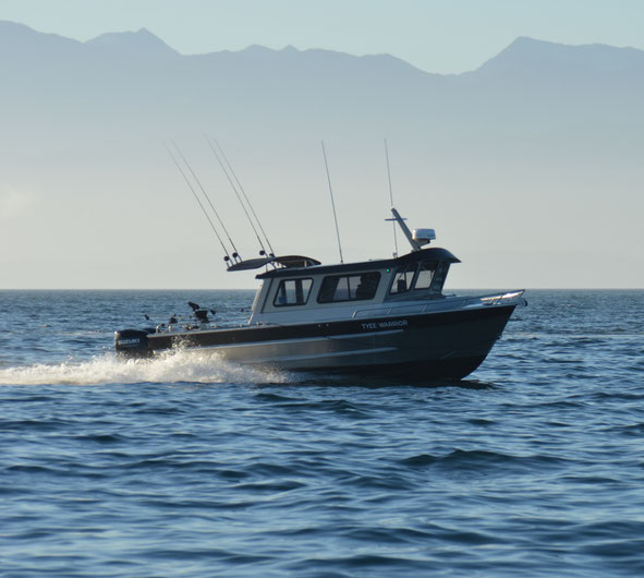 Warrior Fishing Charters, Tyee Warrior