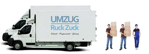 Umzug München - 4 Mann + 2 LKWs